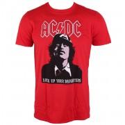 tričko pánské AC/DC - LOCK UP YOUR DAUGHTERS - LIVE NATION - PE13748TSCP