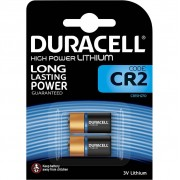 Duracell High Power Lithium CR2-batterij 3V 2 stuks