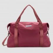 Myprotein Hochglanz-Sporttasche für Damen – Dunkelrot