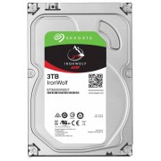 Seagate SATA-HDD SEAGATE Ironwolf ST3000VN007, 3,5