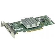 Supermicro Networking adapter 2-port 10GbE CX4 Intel 82598EB PCI-E Low Profile