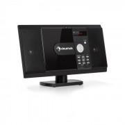 Auna MCD-82 BT Equipo de sonido vertical DVD/CD Bluetooth USB/SD FM HDMI Negro