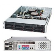 Server Chassis, Supermicro, 2U, CSE-825TQC-R740LPB