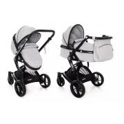 Coto Baby Sydney Wózek Głęboko-Spacerowy Light Grey