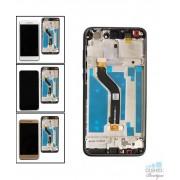 Ecran LCD cu RAMA Huawei P9 lite (2017) P8 Lite (2017) Alb