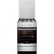 Aragaz Electrolux EKG51351OX Gaz 4 Arzatoare Aprindere integrata plita Grill Curatare catalitica 50 cm Inox