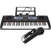 Orga electronica 61 de clape MQ-602UFB cu Bluetooth si USB MP3