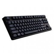 Клавиатура Cooler Master MasterKeys S(Green MX Cherry Switches), гейминг, механична, сваляем кабел, високопрофилни клавиши, без Numpad, черна, USB