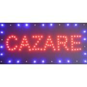 Reclama LED - CAZARE -