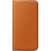 Husa Flip Wallet Samsung Galaxy S6 G920 Orange