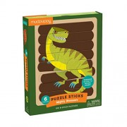 Mighty Dinosaurs Puzzle Sticks: Six 8-stick Puzzles