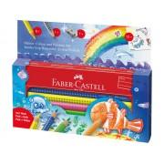 Set desen Jumbo FABER-CASTELL Grip Ocean, FC110908