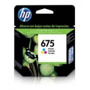 Cartucho HP 675 Color CN691AL 9Ml