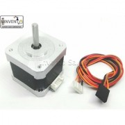 Invento Nema 17 4.2 Kg-cm Bipolar Stepper Motor with Flat Bracket Mount for CNC Robotics DIY Projects 3D Printer