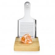 rivsalt Slánka KITCHEN s krystalem pravé himálajské soli a struhadlem, velká - rivsalt