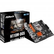 Tarjeta Madre Asrock H110m-dgs Ddr4 Intel Lga1151, Micro Atx