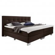 Boxspring Luxury Night II - 140 x 200cm - H2 tot 80kg - Bruin, Grand Selection