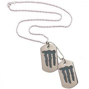 Men Style Stylish New Design Dog tag Silver Stainless Steel Rectangle Pendent For Men And Women