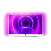 Televizor LED Philips 43PUS8505/12, 108 cm, 4K UHD, Smart TV, Dolby Atmos, Procesor Quad Core, Wi-Fi, Bluetooth, CI+, Ambilight, Clasa energetica B, Argintiu deschis