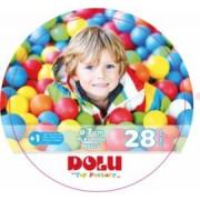 Set 28 bile colorate DOLU diametrul unei bile este de 7 cm Multicolor
