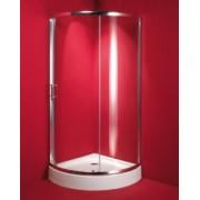 Sprchovací kút Lorca 90 x 90 x 195 cm, bez vaničky, číre sklo
