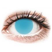 Maxvue Vision ColourVUE Crazy Glow - nedioptrické (2 čočky) Electric Blue