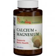 Calciu-Magneziu 500/250mg 100cpr