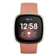 Fitbit pametni sat Versa 3, Pink Clay/Soft Gold