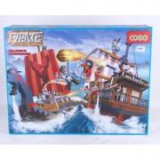 Set cuburi constructii Pirati Cogo