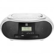 Dual DAB-P 170 CD radio DAB+ (1012), ukw aux, Bluetooth, cd, USB funkcija punjenja baterije srebrna, crna