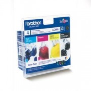 Brother Paket 4st bläckpatroner Brother LC980 (LC980VALBPDR)
