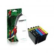 Yanec Epson T1306 Zwart en Kleur (5-Pack)(Yanec)