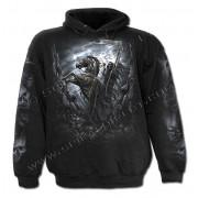 kapucnis pulóver férfi - Death-Rider - SPIRAL - K017M451