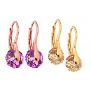 Briolette Earrings made with Crystal from Swarovski ® - 6 Colours!