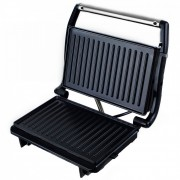 Преса за сандвичи - тостер SAPIR SP 1442 PD, 750 W, Незалепващи плочи - 22.5х14 см, Черен/инокс
