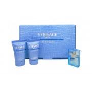 Gianni Versace Man Eau Fraiche 5ml Apă De Toaletă + 25ml Gel de duș + 25ml After Shave Balsam Set