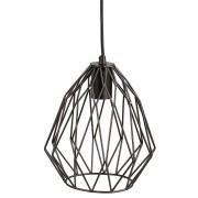 Originele, zwarte, design hanglamp 'CHIPCHIP'