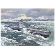 Icm Models U-Boat Type Iib 1939 German Submarine Building Kit