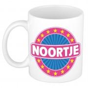 Shoppartners Voornaam Noortje koffie/thee mok of beker