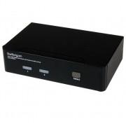 StarTech 2-poorts USB HDMI KVM switch met audio en hub