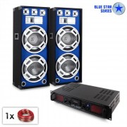 "Electronic-Star PA Set Blue Star Series ""Beatsound Bluetooth MP3"" 2000W (PL-10869-3102)"