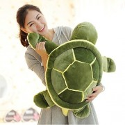 My love stuffed turtle turtle / tortoise extra large turtle large size animal stuffed huge cute bear pillow children gift fluffy texture is irresistible stuffed toy (73cm image-wise)