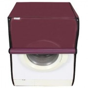 Dream Care waterproof and dustproof Maroon washing machine cover for Siemens WM07X060IN Fully Automatic Washing Machine