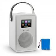 Numan Mini Two Radio internet design WiFi DLNA Bluetooth FM batterie - blanc