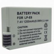 LP-E8 Compatible 7.4V 1200mAh Bateria para Canon EOS 550D
