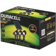 Duracell 3Pk 15 Lumen Solar LED Spot Lights (GL009BP3DU)