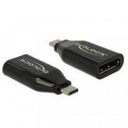 Delock Adattatore USB Type-C™ maschio a Displayport femmina (DP Alt Mode) 4K