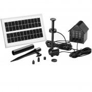 Pompa Do Oczka Wodnego Solarna+fontanna Led