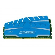 Ballistix Sport XT - DDR3 - 8 Go : 2 x 4 Go - DIMM 240 broches - 1866 MHz / PC3-14900 - CL10 - 1.5 V - mémoire sans tampon - non ECC