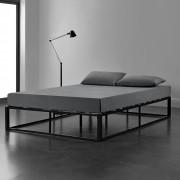 "[en.casa] Kovová posteľ ""Kreta"" ABMB-0953"